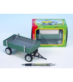 Valník zelený kov 15cm v krabičce Kovap