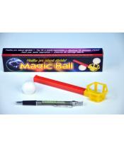 MAGIC BALL kouzelný míček foukací hlavolam 2 barvy v krabičce 22x4,5x3cm 10ks v boxu