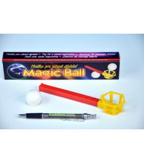Magic ball kouzelný míček foukací v krabičce 22x4,5x3cm 10ks v boxu