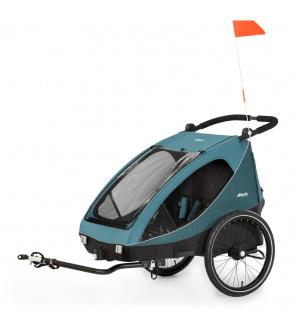 Hauck Dryk DUO 2022 vozík za kolo 2v1