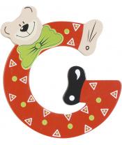 Playshoes dřevěné písmenko G