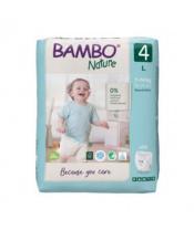 BAMBO Nature Pants 4 Plenkové kalhotky, 20 ks, 7-14 kg