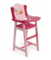 Bayer Chic 50190 Dřevěná jídelní židlička s motýlky