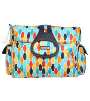 Přebalovací taška Elite Coated Honeycomb Orange