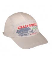 Letní dětská kšiltovka New Baby California béžová