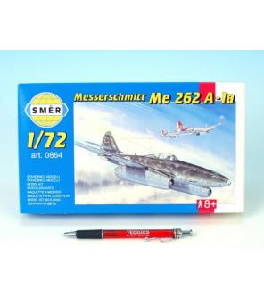 Model Messerschmitt Me 262A 1:72 14,7x17,4cm v krabici 25x14,5x4,5cm