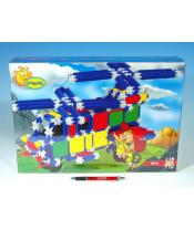 Stavebnice Seva plast 445ks v krabici 35x33x8cm