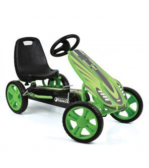 Hauck šlapací motokára Speedster green