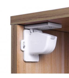 Zopa Magnetický uzávěr skříněk/zásuvek 4ks, white