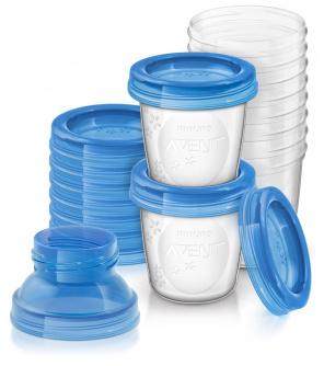 Avent VIA zásobníky na mateřské mléko 10 ks