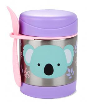 SKIP HOP Zoo Termoska na jídlo se lžičko/vidličkou Koala 325 ml, 12m+