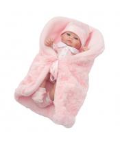 Luxusní dětská panenka-miminko Berbesa Anička 28cm