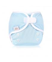 EH Newbie wrap blue -novorozenecké svrchní kalhotky