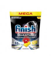 FINISH Quantum Ultimate Lemon Sparkle - kapsle do myčky nádobí 65 ks