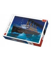 Puzzle Titanic 1000 dílků v krabici 40x27x6cm