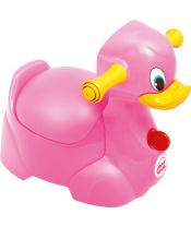 OK BABY Nočník Quack růžová 66