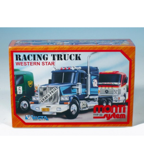 Stavebnice Monti System MS 43 Racing Truck Western star 1:48 v krabici 22x15x6cm