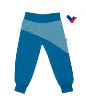 Softshellové kojenecké kalhoty New Baby modré