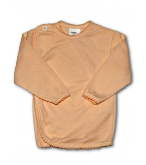 Kojenecká košilka proužkovaná New Baby oranžová