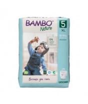 BAMBO Nature Pants 5 Plenkové kalhotky, 19 ks, 12-18 kg