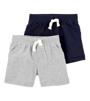 CARTER'S Kalhoty krátké chlapec LBB 2ks 12m
