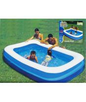 Bazén nafukovací 2 komory 269x175x51cm 982L v krabičce DOPRODEJ
