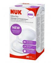 Laktační ultrasavé prsní vložky NUK 30 ks