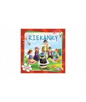 Puzzle kniha Riekanky 17x17cm 6x9 dielikov SK verzia