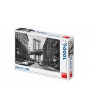 Puzzle Manhattanský most, NY, USA 1000 dílků 66x47cm v krabici 32x23x7cm