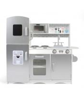 Bayer Chic  30330 Dřevěná kuchyňka šedobílá