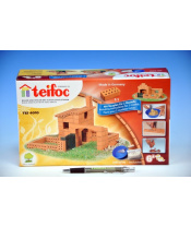 Stavebnice Teifoc Domek Sergio 85ks v krabici 29x18x8cm
