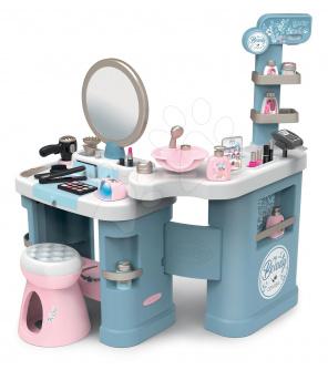 Smoby Kosmetický stolek elektronický My Beauty Center 3in1  kadeřnictví a kosmetika s nehtovým studiem a 32 doplňků
