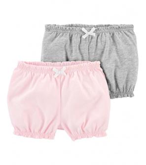 CARTER'S Kalhoty krátké dívka LBB 2ks NB