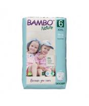 BAMBO Nature Pants 6 Plenkové kalhotky, 18 ks, 18+ kg