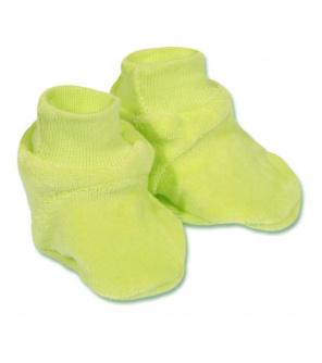 Dětské bačkůrky New Baby zelené