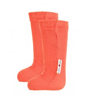 Manymonths ponožky s gumičkou mer19 Precious Coral