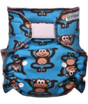 T-TOMI Plena kalhotková - přebalovací set suchý zip - monkies