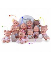 Nines 0964 Pepotes panenka různé druhy