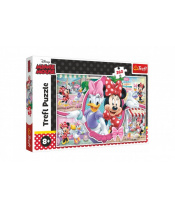 Puzzle Minnie a Daisy/Disney 60x40cm 260 dílků v krabici 40x26x4,5cm