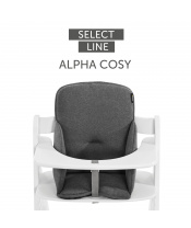 Hauck Alpha cosy Select 2021 jersey charcoal