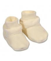 Dětské bačkůrky New Baby béžové