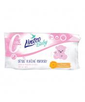 Vlhčené ubrousky Linteo Baby 72 ks Soft and cream