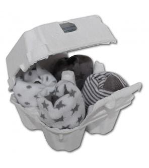 FreshWear ponožky 4ks White/Silver