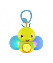 Hračka svítící včelka s melodií na C kroužku Beaming Buggie™ 0m+
