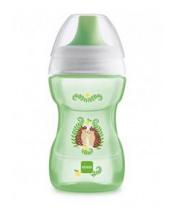 MAM Hrnek na učení Fun to drink cup Guardian 270 ml, 8+ m zelený