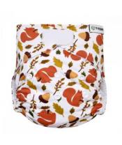 T-TOMI Plena kalhotková AIO - přebalovací set suchý zip - squirells