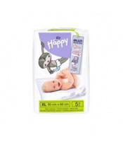 BELLA HAPPY Dětské přebalovací podložky (90 x 60 cm) 5 ks