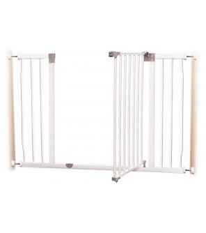 DREAMBABY Zábrana bezpečnostní Liberty extra široká 99-105,5 cm bílá