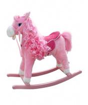 Houpací koník s melodií Milly Mally Princess pink