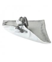 Deka plyšová s mazlíčkem LAPIDOU anthracite-white 48cm x 48cm